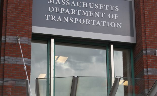 The Massachusetts Registry of Motor Vehicles in Boston