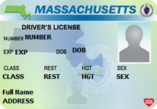 Massachusetts Work License for OUI 3rd