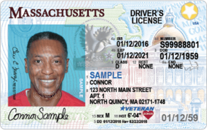 New Massachusetts Driver's License