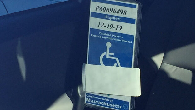 Handicapped Placard